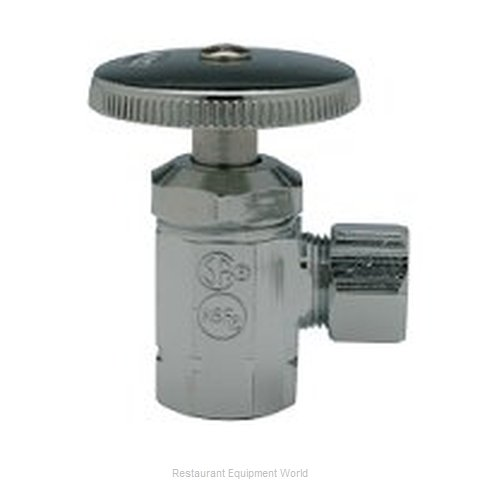 Zurn Z8803-PC Chrome Plated Brass Stopper (Magnified)