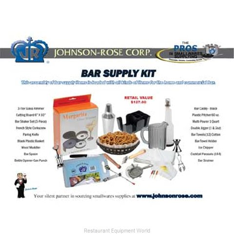Johnson-Rose 1009 Bar Accessory Package