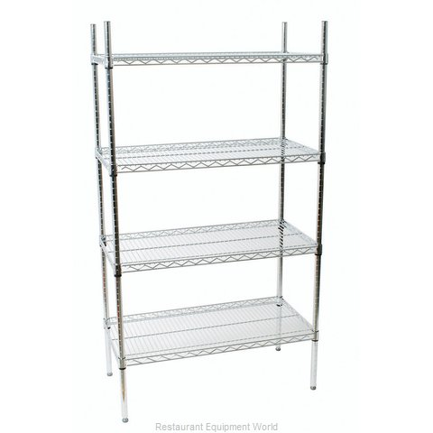 Johnson-Rose 118608 Shelving Unit, Wire