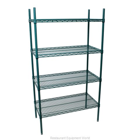 Johnson-Rose 224608 Shelving Unit, Wire