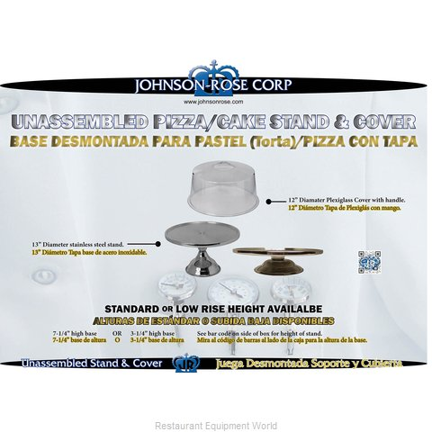 Johnson-Rose 41055 Cake Pastry Stand