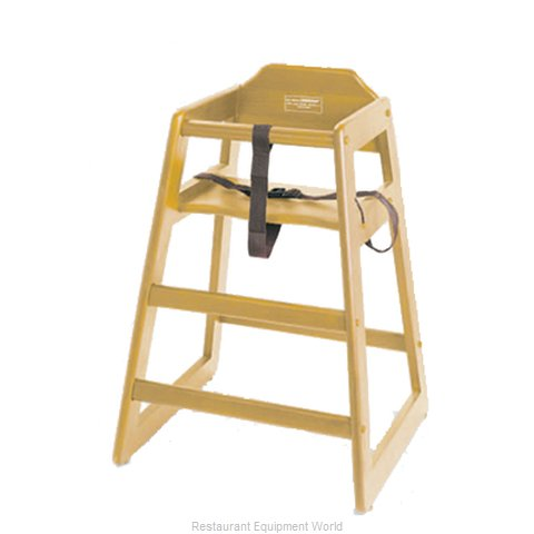 Johnson-Rose 4504 High Chair Wood (Magnified)