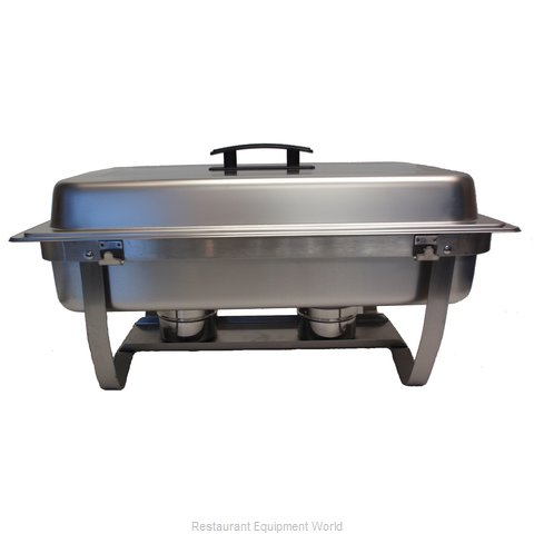 8 Qt Full Size Stainless Steel Chafer With Folding Frame
