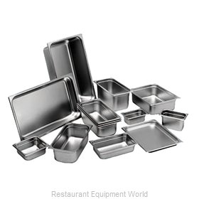 Johnson-Rose 58236 Steam Table Pan, Stainless Steel