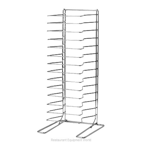 Johnson-Rose 6498 Pan Rack, Work Table Cabinet (Magnified)