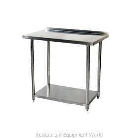 Johnson-Rose 81260 Work Table 60 Long Stainless steel Top