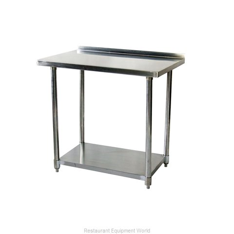 Johnson-Rose 81284 Work Table 84 Long Stainless steel Top