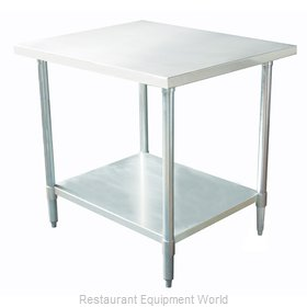 Johnson-Rose 82426 Work Table 24 Long Stainless steel Top