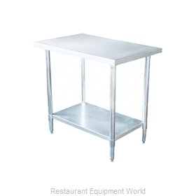 Johnson-Rose 82430 Work Table 30 Long Stainless steel Top