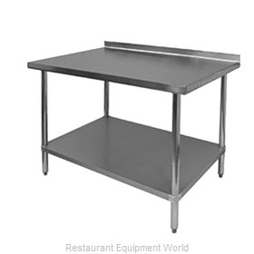 Johnson-Rose 82449 Work Table 48 Long Stainless steel Top