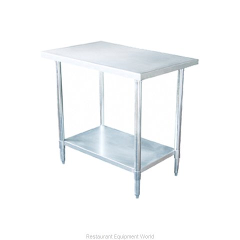 Johnson-Rose 82486 Work Table 84 Long Stainless steel Top