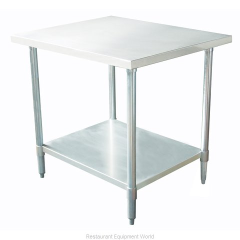 Johnson-Rose 83084 Work Table 84 Long Stainless steel Top