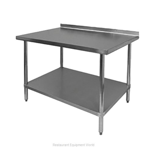 Johnson-Rose 83085 Work Table 84 Long Stainless steel Top