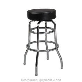 Just Chair C42030X-BLK Bar Stool, Swivel, Indoor