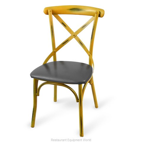 Just Chair CSV-91318-PS-GR3 Chair, Side, Indoor