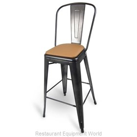 Just Chair G42630-PS-COM Bar Stool, Indoor