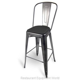 Just Chair G42630-PS-GR1 Bar Stool, Indoor
