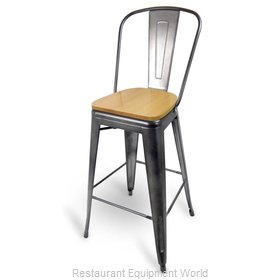 Just Chair G42630-SS Bar Stool, Indoor