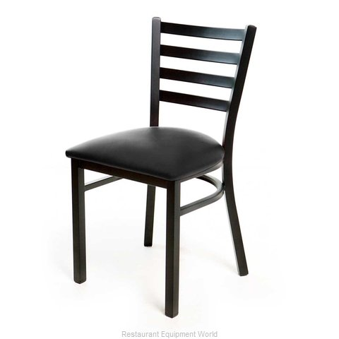 Just Chair M20118-BLK-PS BVS-LOOSE Chair, Side, Indoor