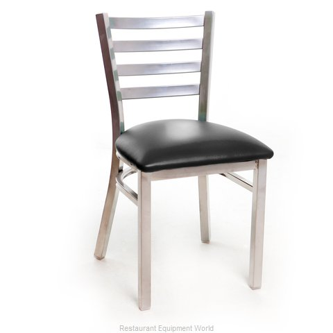 Just Chair M20118-SIL-PS-BVS-LOOSE Chair, Side, Indoor