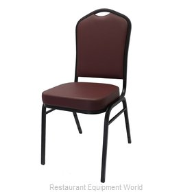 Just Chair M81118LC-GR1 Chair, Side, Stacking, Indoor