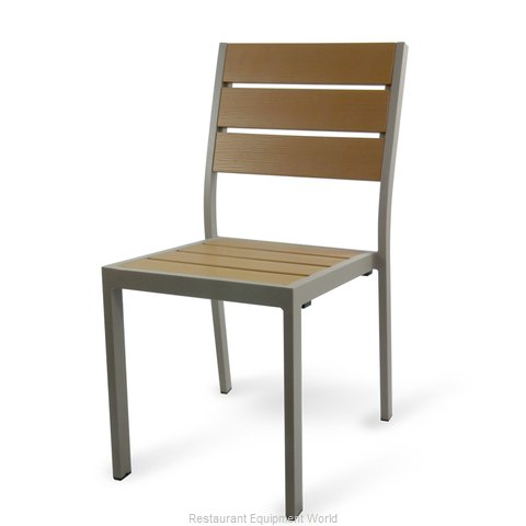 Just Chair PW80318 Chair, Side, Stacking, Outdoor