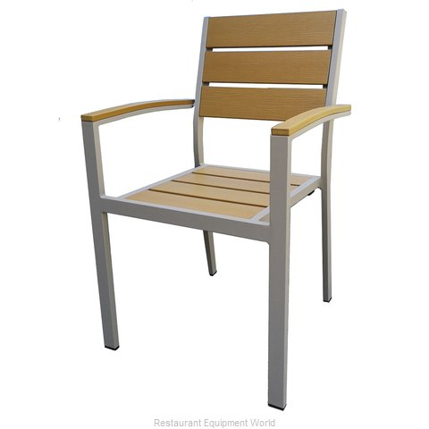 Just Chair PW80318A Chair, Armchair, Stacking, Outdoor