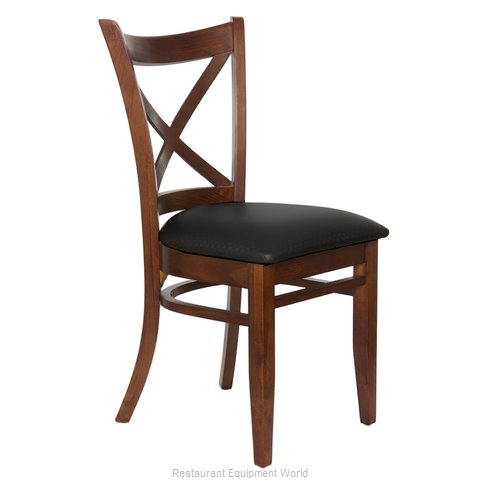 Just Chair W36618-PS-BVS Chair, Side, Indoor