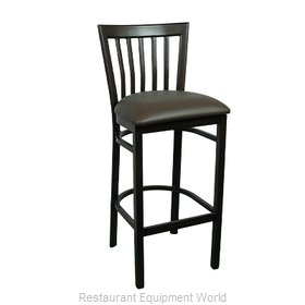Just Chair WL38130-PS-BVS Bar Stool, Indoor