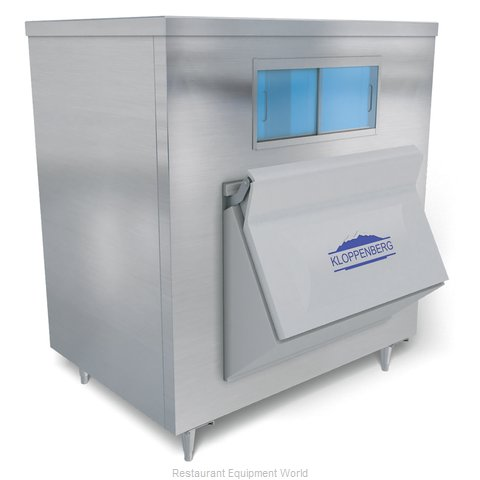 Kloppenberg 1045-SS Ice Bin for Ice Machines
