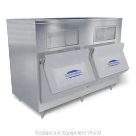Kloppenberg 1455-SBB Ice Bin for Ice Machines