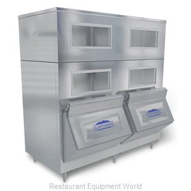 Kloppenberg 2215-SBB Ice Bin for Ice Machines