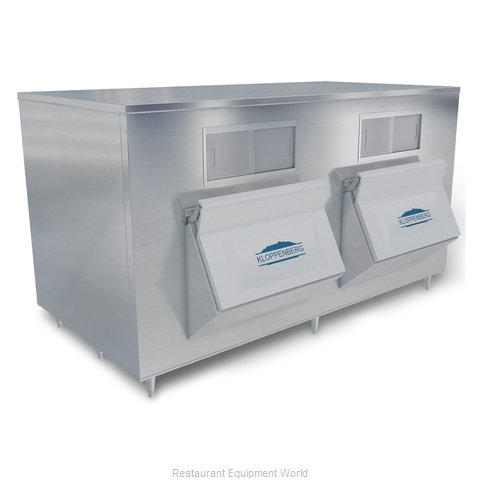Kloppenberg 2845-SBB Ice Bin for Ice Machines