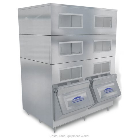 Kloppenberg 4325-SBB Ice Bin for Ice Machines