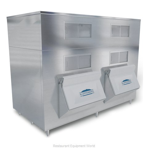 Kloppenberg 4345-SBB Ice Bin for Ice Machines (Magnified)