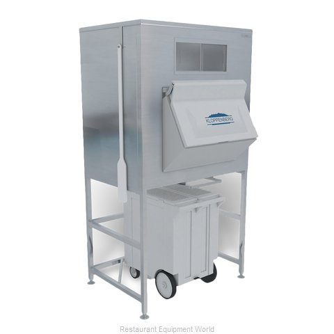 Kloppenberg IFS1200-125 Ice Bin for Ice Machines (Magnified)