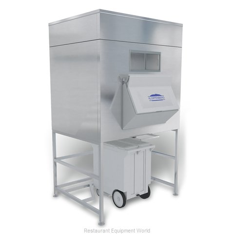 Kloppenberg IFS1300-125 Ice Bin for Ice Machines (Magnified)