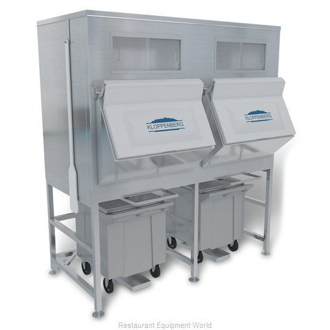 Kloppenberg IFS1700-125 Ice Bin for Ice Machines (Magnified)