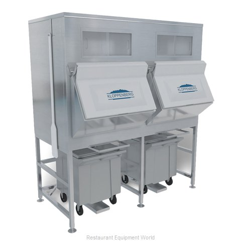 Kloppenberg IFS2500-125 Ice Bin for Ice Machines (Magnified)