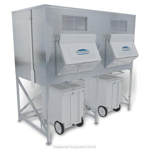 Kloppenberg IFS3500-250 Ice Bin for Ice Machines (Magnified)