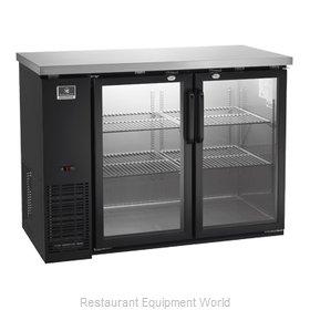 Kelvinator KCBB48GB-HC Back Bar Cabinet, Refrigerated
