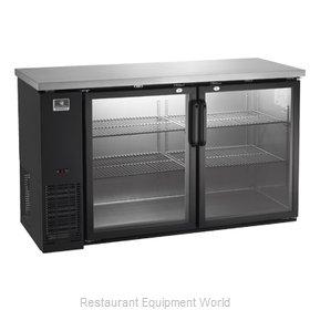 Kelvinator KCBB60GB-HC Back Bar Cabinet, Refrigerated