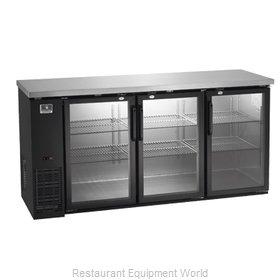 Kelvinator KCBB72GB-HC Back Bar Cabinet, Refrigerated
