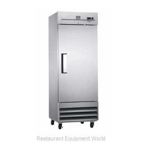 Kelvinator KCBM23F Reach-In Freezer 1 section