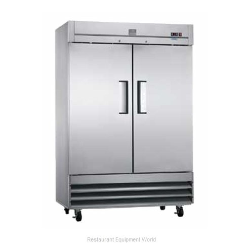 Kelvinator KCBM48F Reach-In Freezer 2 sections (Magnified)