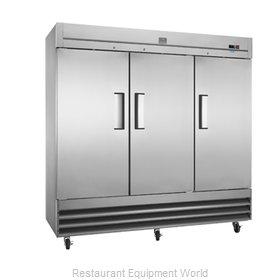 Kelvinator KCBM72FS-HC Freezer, Reach-In