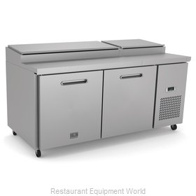 Kelvinator KCHPT72.9 Refrigerated Counter, Pizza Prep Table