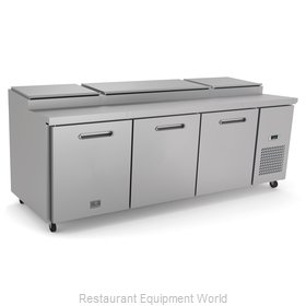 Kelvinator KCHPT92.12 Refrigerated Counter, Pizza Prep Table