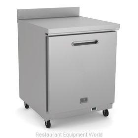 Kelvinator KCHUCWT27R Refrigerator, Undercounter, Reach-In