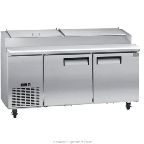 Kelvinator KCPT72.9-HC Refrigerated Counter, Pizza Prep Table